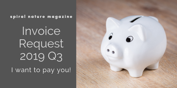 2019 Q3 Invoice Request