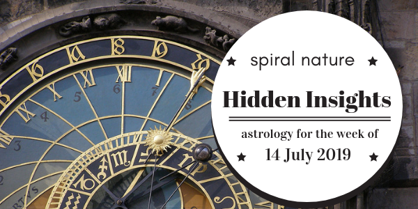 Hidden Insights: Astrology for the week of 14 July 2019