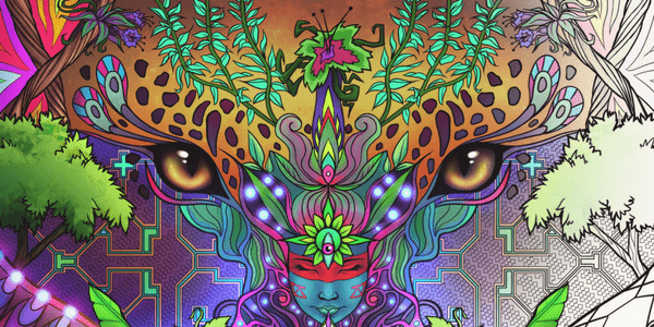 Ayahuasca Jungle Visions, by Alexander George Ward