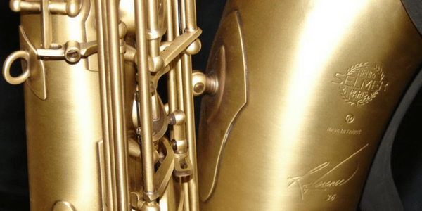 Detail of a saxophone, photo by ReflectedSerendipity