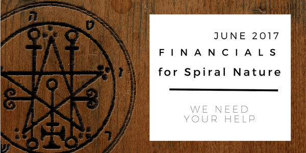 Financials for Spiral Nature June 2017