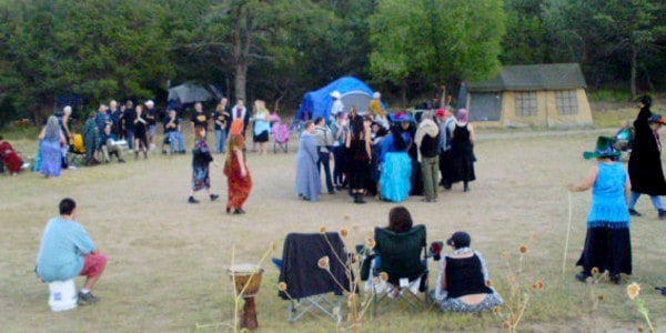 The Magical Mountain Mabon festival, photo by T Hunter