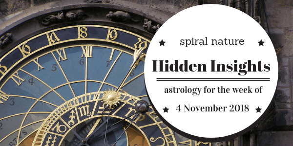 Hidden Insights: Astrology for the week of 4 November 2018