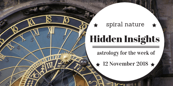 Hidden Insights: Astrology for the week of 12 November 2018