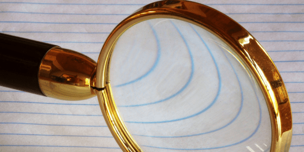 Magnifying glass, photo by theilr