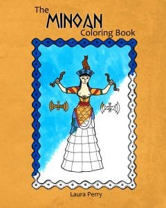 The Minoan Coloring Book, by Laura Perry