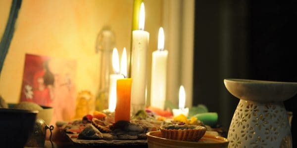 Altar candles, photo by distelfliege