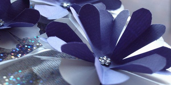 Gift with paper flower, photo by PermaCultured