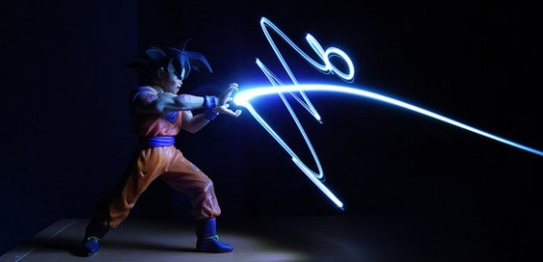 Goku, image by Rob Walker