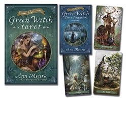 The Green Witch Tarot Kit, by Ann Moura