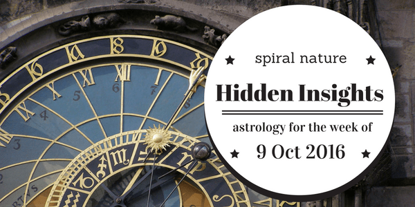Hidden Insights: Astrology for the week of 9 October 2016