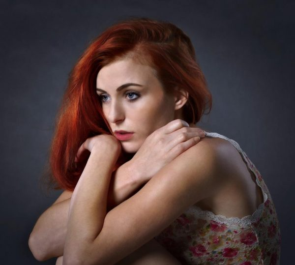 Redhaired woman