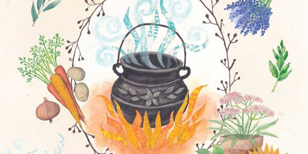 The Book of Kitchen Witchery, by Cerridwen Greenleaf | Spiral Nature