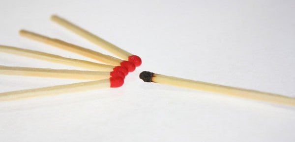 Matches, photo by Dennis Skley