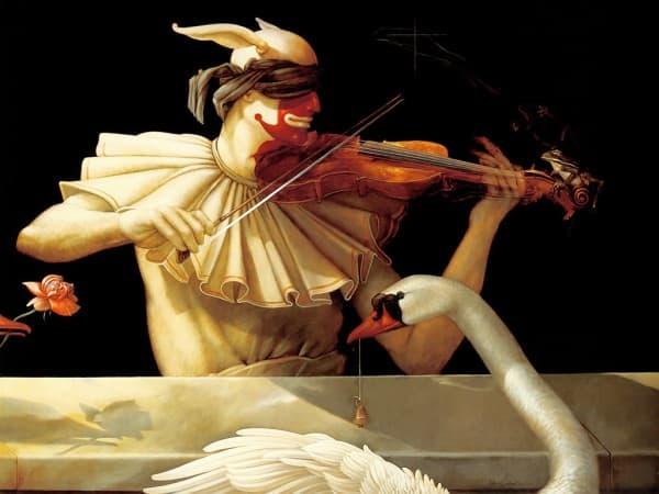 Water Music, by Michael Parkes