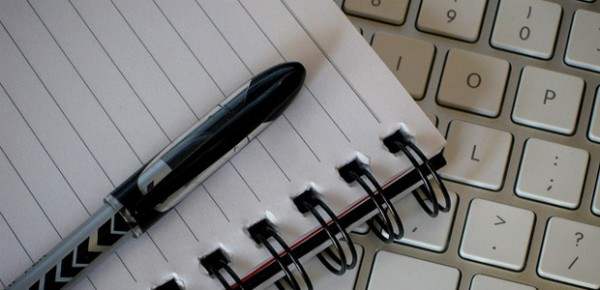 Writing tools, photo by Pete O'Shea